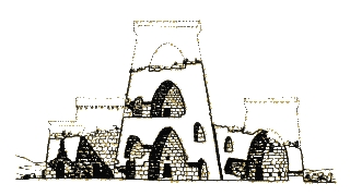 Model of Nuraghe Santu Antine